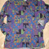 Рубашка  New Fast с длинным рукавом, пёстрая, р.М