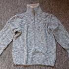 Мужской теплый свитер M L, смотрите замеры