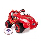 Электромобиль Injusa Racing car bubble 7101 красный