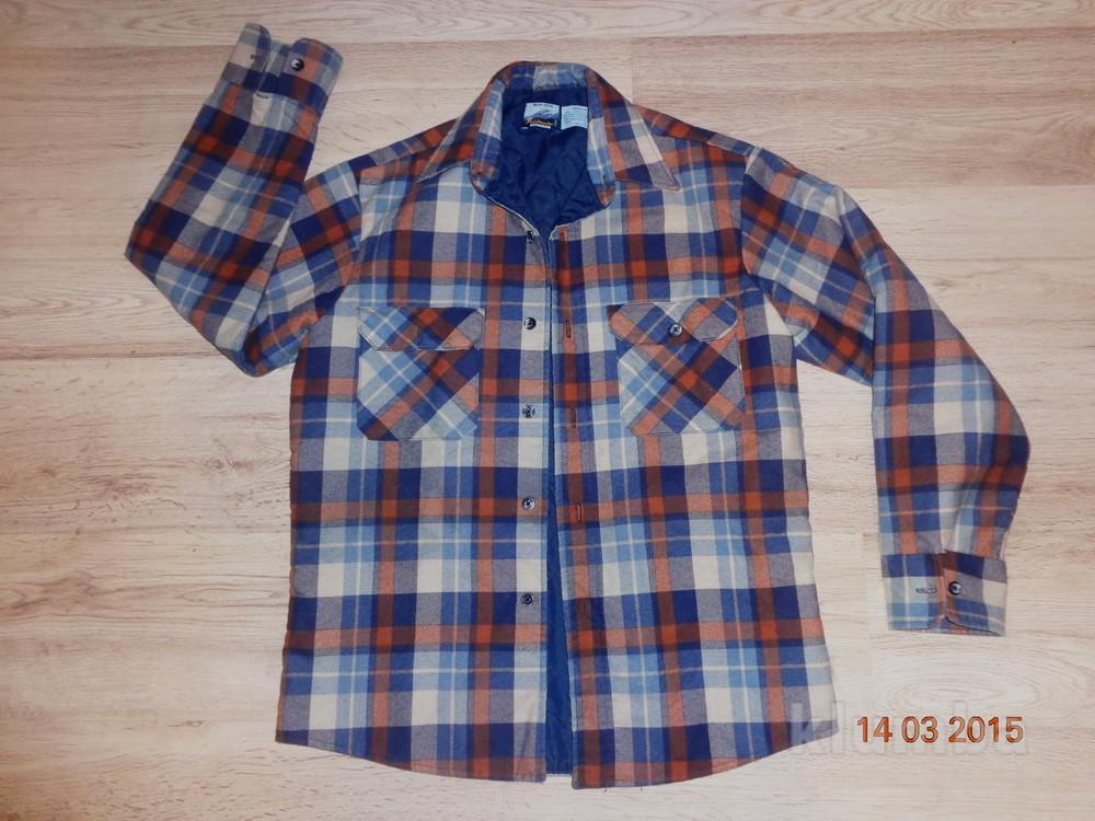 Стильная байковая рубашка фото №1