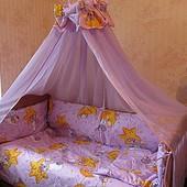 Детское постельное белье - комплекты 9 предметов!