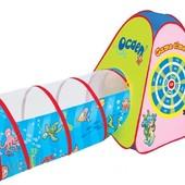 Детская палатка   889-176 В с туннелем