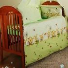 Детское постельное белье- Бортики, защита , охранка в детскую кроватку. Пчелки