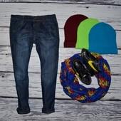 5 - 6 лет 116 см Очень крутые фирменные джинсы бойфренды модникам