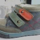 ботинки кожанные для мальчика 21р.