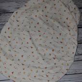 Простынь резинка постельное белье в детскую с рисунком Мазекеа Mothercare