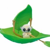 Набор Юху cамолетик, домик, грибок, кораблик-листок Yoohoo&friends  от Simba (Франция)