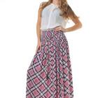 Роскошная длинная юбка в пол на каждый день, весна-лето