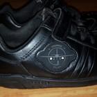 Дешевле!!! Кожаные кроссовки Clarks,интересный дизайн,стелька 18,5см
