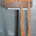 Тканевый оранжевый пояс