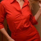 Красная рубашка-блузка Dorothy Perkins, 38-12 размер