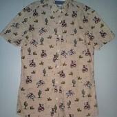 Рубашка на подростка мужская River Island, размер XS