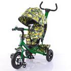 Тилли Трайк Камуфляж трехколесный велосипед tilly trike надувные колеса