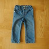 4-5 Marks&Spencer как новые фирменные джинсы. Длина - 49 см, шаговый - 31 см, пояс с утяжками максим