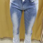 Светлые джинсы с переходом цвета, Турция, размеры 28,29,30
