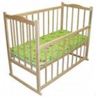 Детская кроватка с колесиками и люлькой. 4 вида матрасиков.