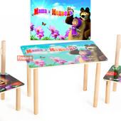 Детский столик Маша и Медведь, производство Украина