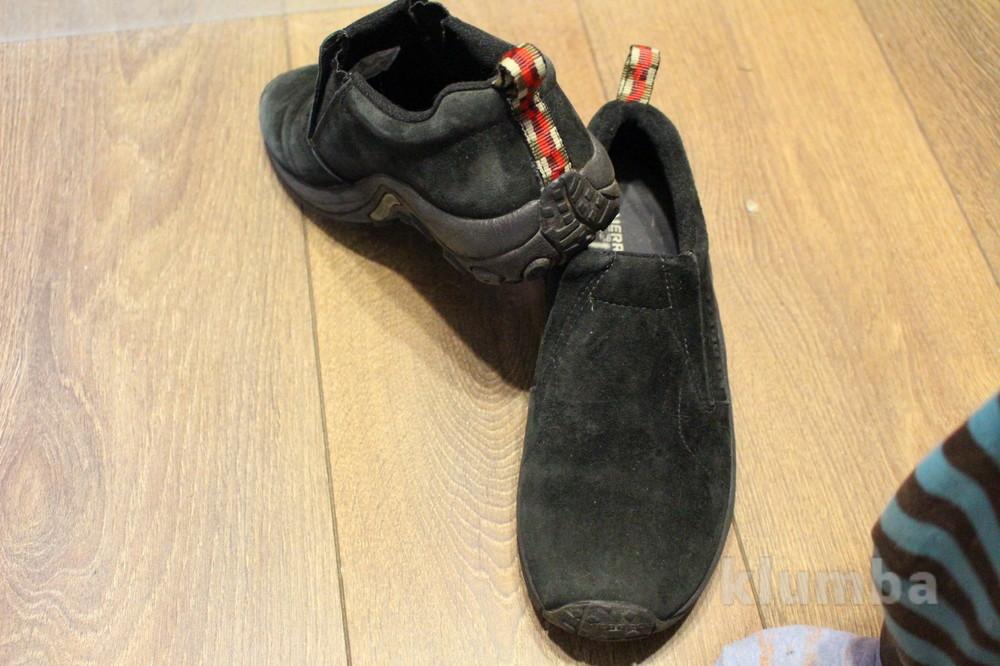 Замшевые туфли мerrell. подростковые. фото №1