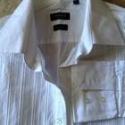 Белоснежная рубашка мужская Madison avenue, L, хлопок