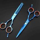 парикмахерские ножницы синие daomo 5,5
