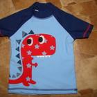 футболка для моря Next 6-9 мес (до 12 отлично) степень защиты UPF50+ состояние отличное