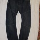 Темно-синие джинсы с низкой посадкой Crosshatch. Англия. 30 р