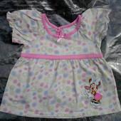 Disney Платье 9-12мес.