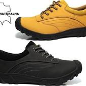 Мужские демисезонные ботинки натуральная кожа