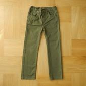 8 лет TU как новые фирменные джинсы хаки. Длина - 77 см, шаговый - 52 см, пояс с утяжкам максимум 32