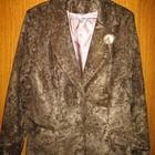 Пиджак коричневый,р.48.