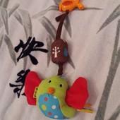 Птичка подвеска с музыкой ветра от K`s Kids