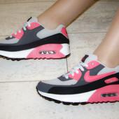 Кроссовки цветные Air Max Т606