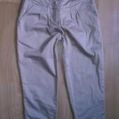 Шикарные Как новые E-vie брюки 3-4 г С защипами