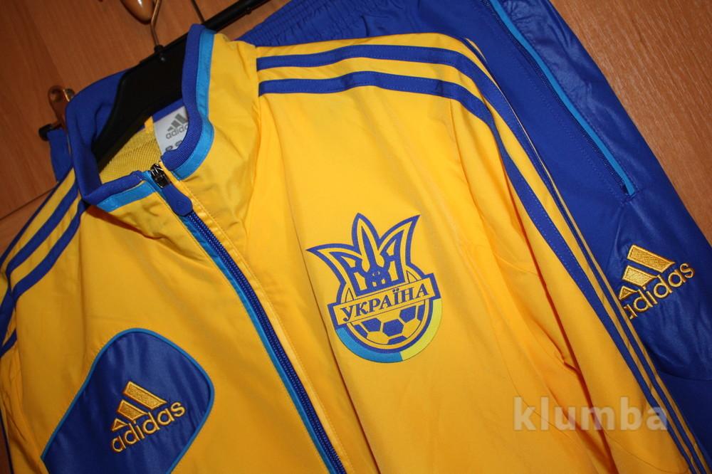 9b7f36d5 Мужской спортивный костюм сборной украины adidas ffu pres suit x37340 фото  №1