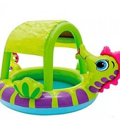 Детский надувной бассейн Intex 57110 Морской конек