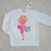Распродажа Батник трикотажный маленьким Барби