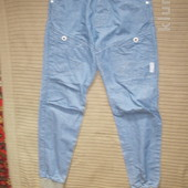 Светло-голубые джинсы с патентами на штанинах. Voi jeans № 88. Англия. 28/32