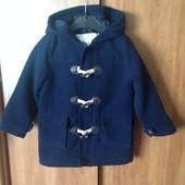 стильное, модное пальто на мальчика 2 3,5 года, рост 98см