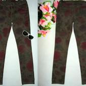 Гламурные джинсы-скинни Hema на 10 лет,рост 140 см.Большой выбор!