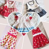 Платья новые нарядные для девочек от 6 мес до 2-х лет в наличии
