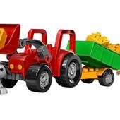 Lego Duplo Большой трактор 5647