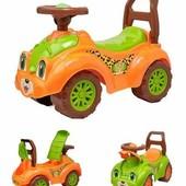 Машинка-каталка Леопард