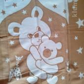 Детское хлопковое одеялко в роддом
