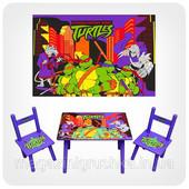 Детский столик с 2-мя стульчиками, большой выбор, бесплатная доставка