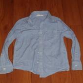 Рубашка хнм для школы на 6-7лет