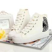 Модные красивые стильные кеды конверсы с Versace
