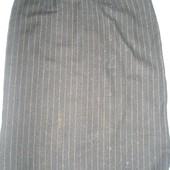 Шерстяная теплая юбка ОТ82см
