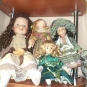 куклы фарфор парцеляна