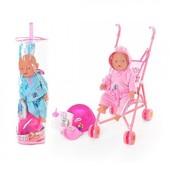 Кукла Беби Борн.  Baby Born с коляской 0702