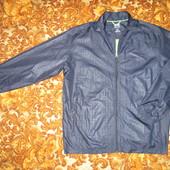 Ветровка  Adidas  navy/black  L  оригинал